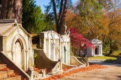 Historic Laurel Hill Cemetery Philadelphia PA Stock Image