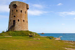 Historic Le Hocq Tower, Jersey, UK Royalty Free Stock Photo