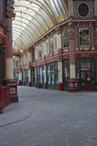 Historic Leadenhall Market Stock Image