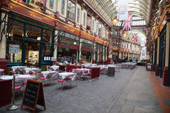 Historic Leadenhall Market Royalty Free Stock Photos