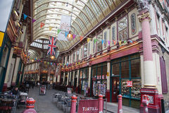 Historic Leadenhall Market Stock Photos