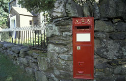 Historic letter box. Royalty Free Stock Image