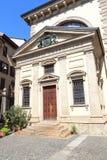 Historic library Biblioteca Ambrosiana in Milan Stock Image