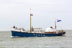 Historic lifeboat Brandaris at the North Sea Stock Images