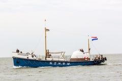 Historic lifeboat Brandaris at the North Sea Royalty Free Stock Photography