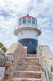 Historic lighthouse at Cape Point Stock Image
