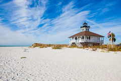 Historic lighthouse in Florida Royalty Free Stock Images