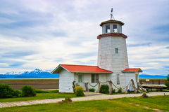 Historic Lighthouse, Homer Split, Alaska Royalty Free Stock Images