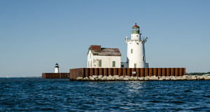 Historic lighthouse located in Ohio. Royalty Free Stock Photo