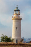 Historic Lighthouse at Paphos, Cyprus Royalty Free Stock Photos