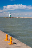 The historic lighthouse and pier in Port Dalhousie Stock Images