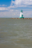 The historic lighthouse and pier in Port Dalhousie Royalty Free Stock Image