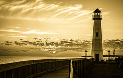 Historic Lighthouse Royalty Free Stock Photos
