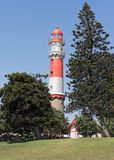 The historic lighthouse of Swakopmund, Namibia, Africa Royalty Free Stock Image