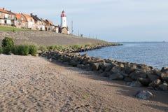 Historic lighthouse of Urk, the Netherlands Royalty Free Stock Photo