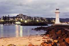 Historic Lighthouse in Wollongong Royalty Free Stock Photos