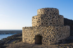 Historic Lime Shaft Kiln Royalty Free Stock Images