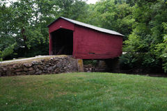 Historic Link Farm Covered Bridge Stock Photography