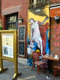 Historic Little Italy in NYC, USA Stock Photo