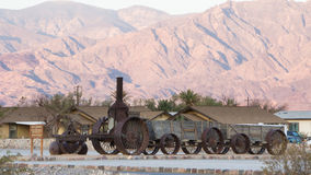 Historic locomotive in Death Valley National Park Stock Photography