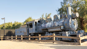 Historic locomotive in Death Valley National Park Stock Image