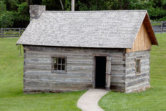 Historic Log Cabin Stock Image