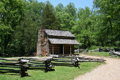 Historic Log Cabin Royalty Free Stock Photo