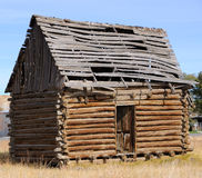 Historic Log Cabin Royalty Free Stock Images