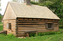 Historic Log Cabin. In Lancaster Stock Images