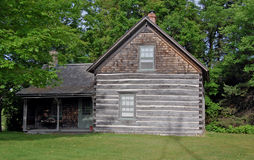 Historic Log Cabin Royalty Free Stock Photography