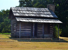 Historic Log Cabin Royalty Free Stock Photos