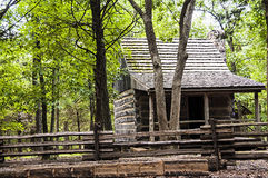 Historic log cabin Stock Photography