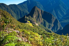 Historic Lost City of Machu Picchu - Peru Stock Photo