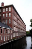 Historic Lowell Mill Building Royalty Free Stock Photo