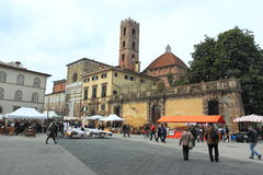 Historic Lucca Royalty Free Stock Photo