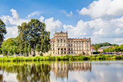 Historic Ludwigslust Palace in northern Germany Royalty Free Stock Image