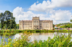 Historic Ludwigslust Palace in northern Germany. Ludwigslust Palace in Baroque architecture style in the town of Ludwigslust, Mecklenburg-West Pomerania Stock Photography