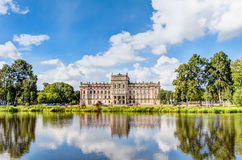 Historic Ludwigslust Palace in northern Germany Royalty Free Stock Photo