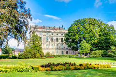 Historic Ludwigslust Palace in northern Germany Stock Images