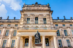 Historic Ludwigslust Palace in northern Germany Stock Photo