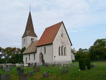 Historic Lutheran church stock images