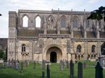 England, Cotswolds, Malmesbury Abbey. Historic Malmesbury Abbey in early autumn sunshine, Wiltshire, UK Royalty Free Stock Photo