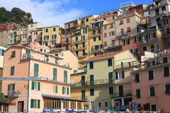 Historic Manarola in Cinque Terre, Italy Royalty Free Stock Photos