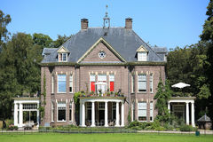 The historic Manor House t`Walien in the Province Gelderland, The Netherlands Royalty Free Stock Image