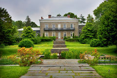 Historic Mansion. Gardens and grounds of historic mansion in NYC royalty free stock images