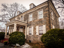 Historic Mansion on Fort Hunter Harrisburg Pennsylvania Royalty Free Stock Photo