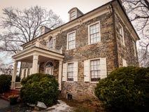 Historic Mansion on Fort Hunter Harrisburg Pennsylvania. The Historic Mansion on Fort Hunter in Harrisburg Pennsylvania Royalty Free Stock Photo