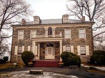 Historic Mansion on Fort Hunter Harrisburg Pennsylvania Stock Image