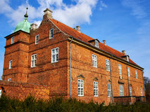 Historic mansion house on Fyn Funen Island Denmark. Historic typical classical built mansion manor house on Fyn Funen Island Denmark Stock Photo