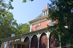 Historic Mansion in New Ulm stock photos